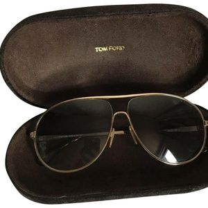 "TOM FORD "" Cliff"" Aviator Sunglasses"